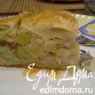 """Пирог из пышного теста """"Рыбный"""""""