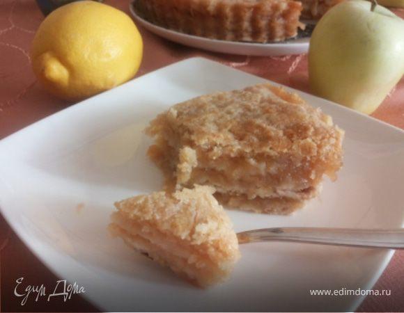 Яблочный кекс с фундуком - кулинарный пошаговый рецепт с фото на KitchenMag.ru