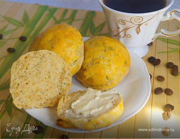 Булочки сырные с паприкой и укропом