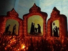 Рождественский пряник-триптих