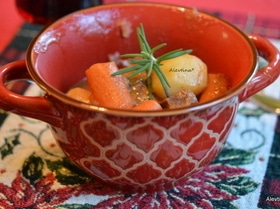 Рагу из говядины с овощами