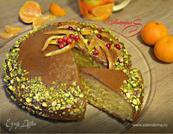 Пирог «Мандаринка»