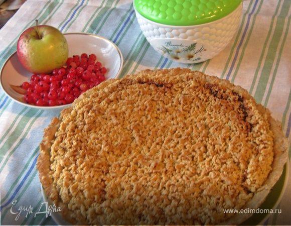 """Яблочный пирог """"По-сибирски"""""""