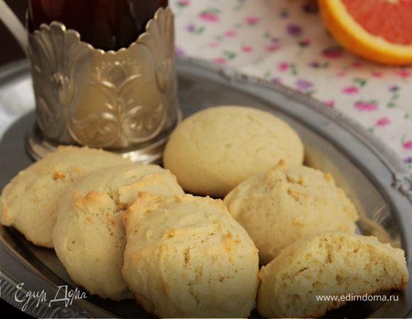 Апельсиновое печенье на оливковом масле