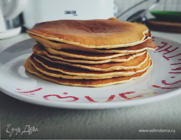Панкейки к завтраку