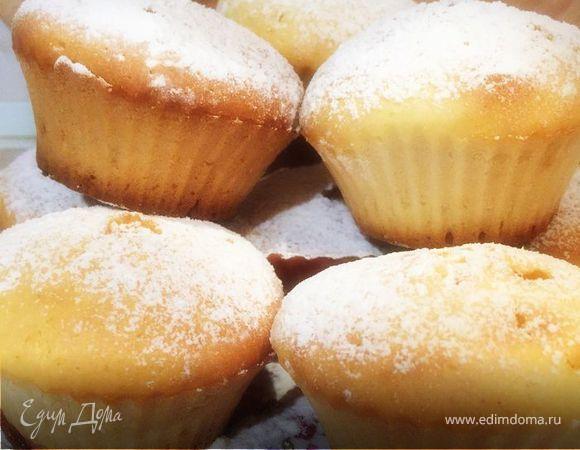Ванильные кексы с карамелью