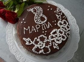 Торт «8 марта!»