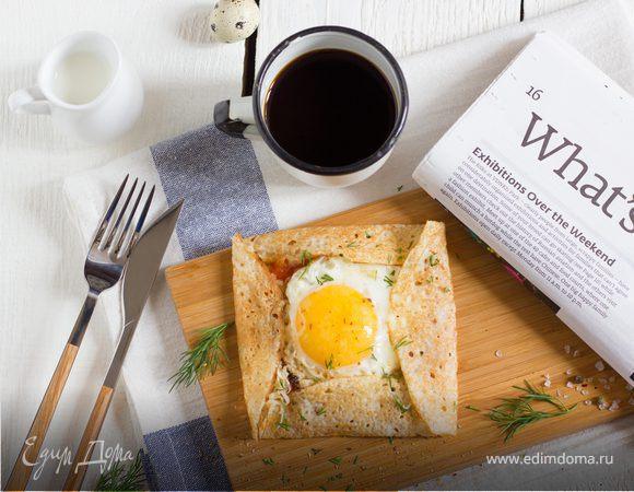 Завтрак в одном блинчике