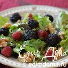 Салат с ягодами
