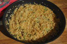 Бурый рис с кунжутом
