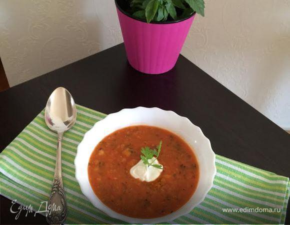 Суп-пюре из чечевицы