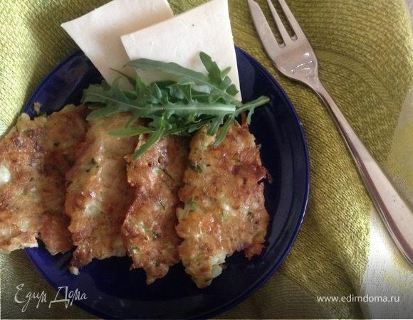 Кабачковые деруны с сыром и овсянкой