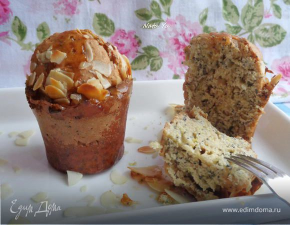 Маковые кексы в ромовом сиропе