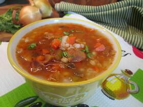 Орсо-суп с перловкой