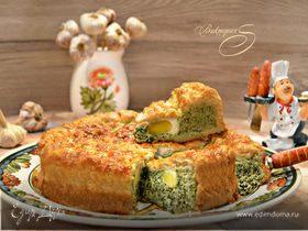 Итальянский пасхальный пирог «Паскуалина» (Torta pasqualina)