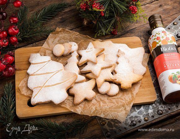 Творожное печенье «Рождественское»