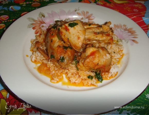 Курица по-итальянски «Каччиаторе»