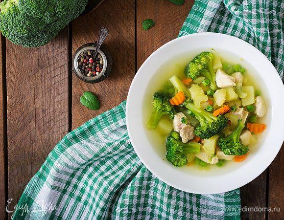 Яркий весенний суп
