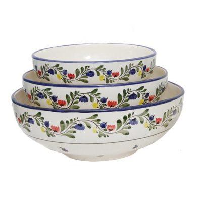 Набор керамических салатников серии «Черника»