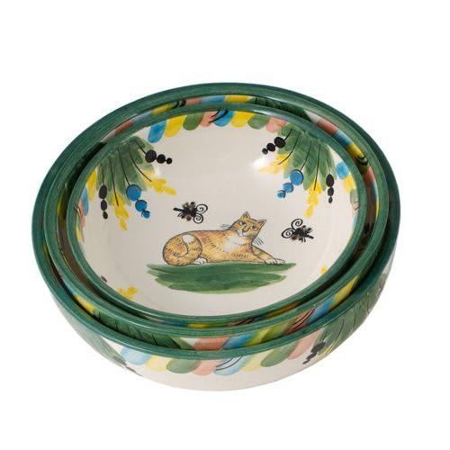 Набор керамических салатников серии «Кот»