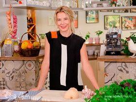 #сладкоесолёное №5 | Юлия Высоцкая — Цыпленок, запеченный под соусом песто с тыквой