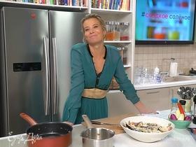 Рецепт вкусного ризотто с морепродуктами и белым вином от Юлии Высоцкой | #сладкоесолёное №67