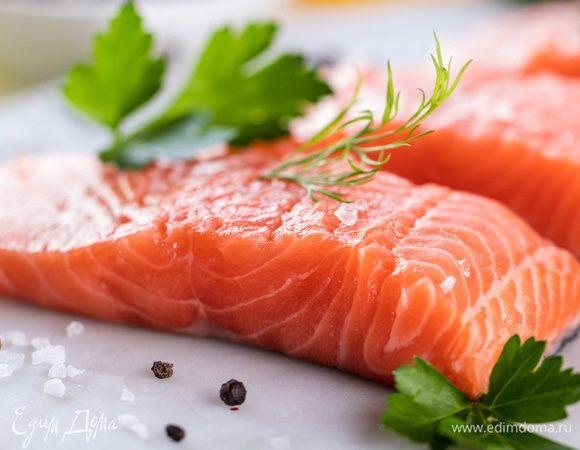 Рыба красная