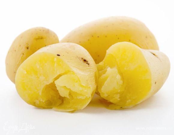 Картофель вареный в мундире