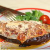 Баклажаны с мясом, помидорами и сыром сулугуни
