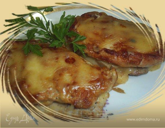 Простой рецепт свинины с грибами