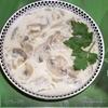 Теплый салат из шампиньонов в сметане