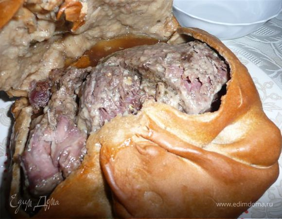 Мясо в печи