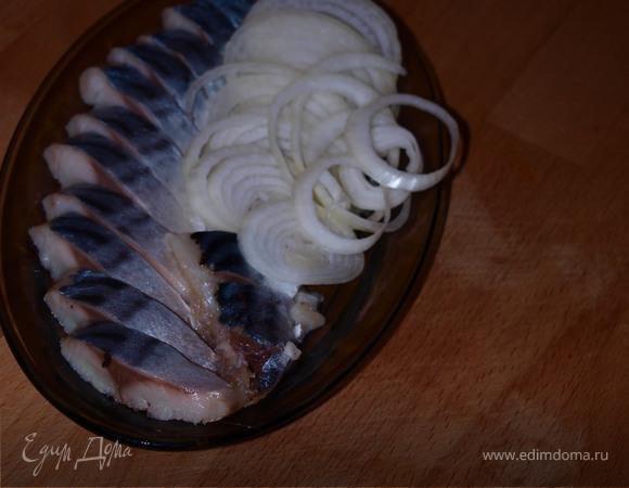 Скумбрия соленая