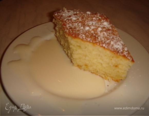 Йогуртовый кекс