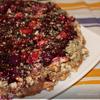 Три крема в одном ягодном пироге
