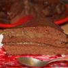 Торт шоколадный с кофейным кремом и ромовой