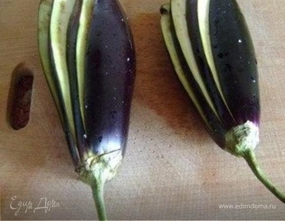 павлиний хвост из баклажанов пошаговый рецепт с фото