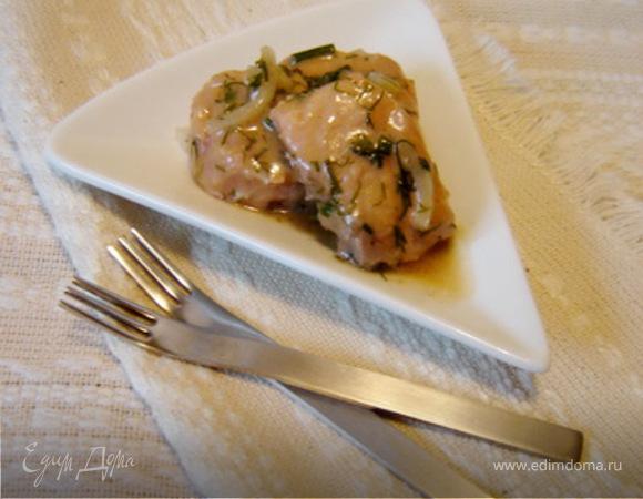 Мусс из лосося с картофелем