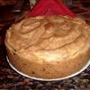 Пирог со сметанно-творожной начинкой