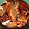 Рассольник с телятиной и сушеными грибами