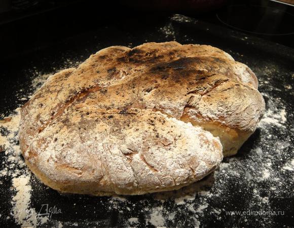 Хлеб с травками