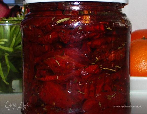 Вяленые домашние помидорчики