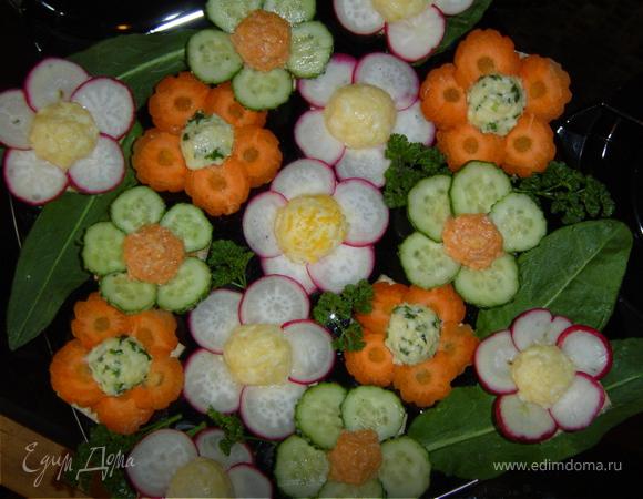 """Закуска """"Полевые цветы"""""""