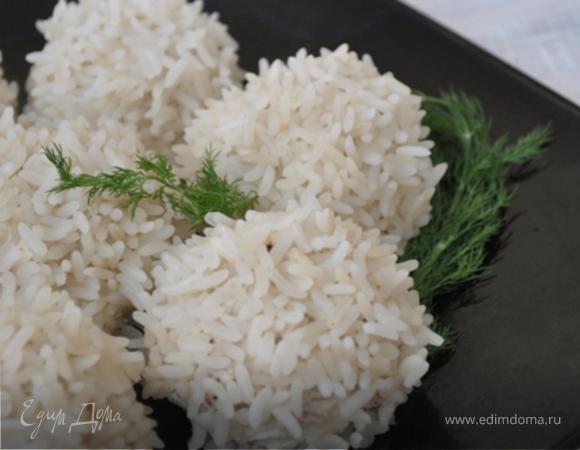 Рисовые шарики с пряной курицей