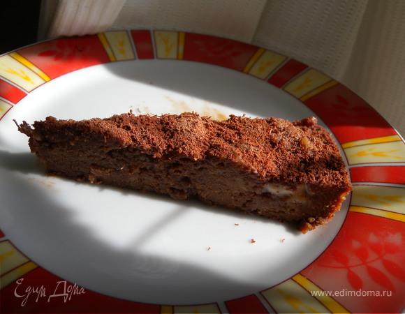 """Десерт шоколадный """"тянучка-нуга"""""""
