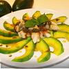 Куриная грудка с авокадо под мятным соусом