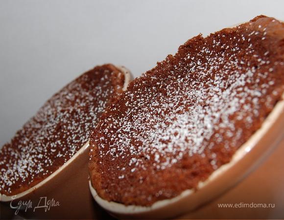 Самый простой шоколадный кекс.