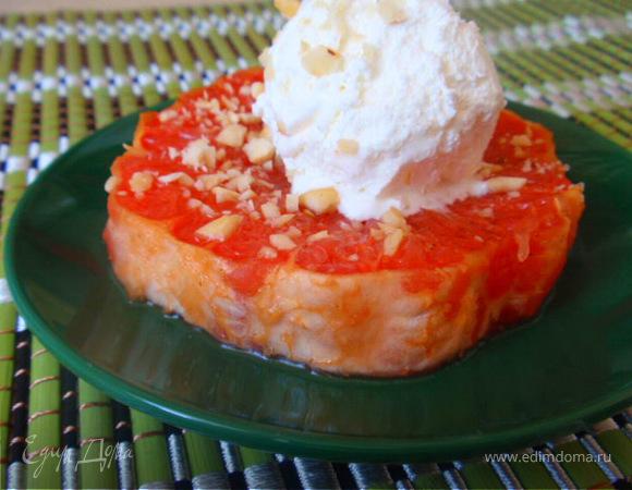 Легкий грейпфрутовый десерт