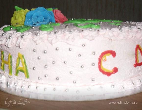"""Торт """"Из того, что есть под рукой"""")))"""