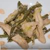 Стручковая фасоль под сливочным соусом.